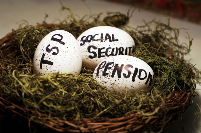 Federal Retirement Nest Eggs
